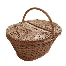 Cos pentru picnic din rachita Recoandam cosul de rachita pentru picnic la iesirile la iarba verde cu familia in care pot fi tr