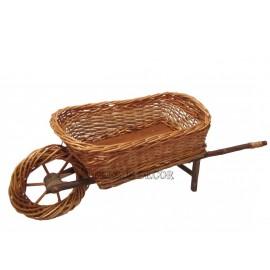 Wicker Basket - Wheelbarrow