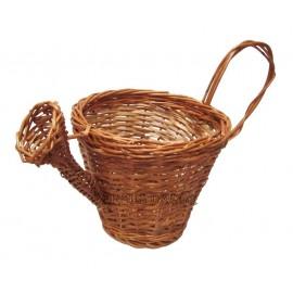 Cos decorativ din rachita - stropitoare Un cos deosebit ce poate fi folosit pentru cosuri cadou, cos de decoratiune sau pentru b