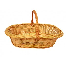 Oval wicker basket - simple