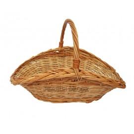 Cos din rachita - tip barca Cosul din rachita - tip barca este un cos din rachita elegant ce poate fi folosit ca si cos cadou c