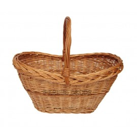 Medium wicker basket - left
