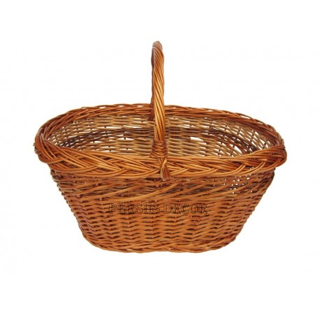 Wicker basket straight average