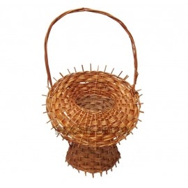 Wicker Basket Flower - Florentine
