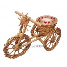 Tricicleta decor din rachita