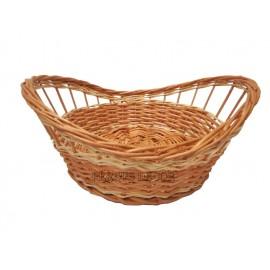 Cos din rachita pentru paine Cosul pentru paine se poate folosi cu un stergar unde se pot aranja feliile de paine coapte intr-un
