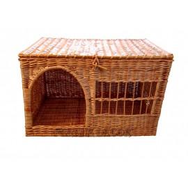 Casa din rachita pentru animale