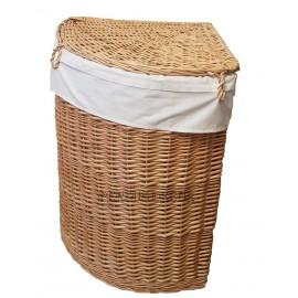 Cos rufe din rachita pentru colt Cos pentru rufe sau cos depozitare ce se potriveste perfect in orice colt din baie sau hol;