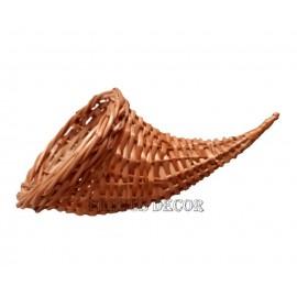 Cornul abundentei mic Corn din rachita, denumit si cornul abundentei - simbol al bogatiei si belsugului, este foarte utilizat