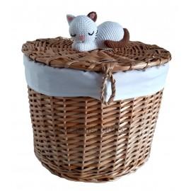 Cos rachita pentru sosete - pisicuta