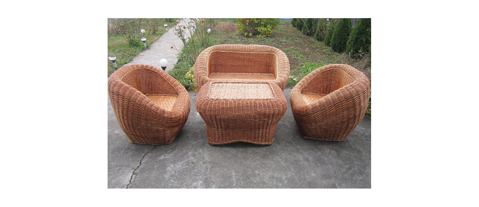 Wicker furniture
